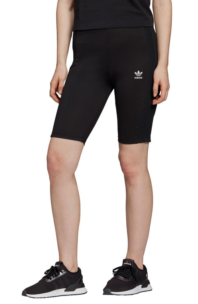 ADIDAS ORIGINALS Cycling Shorts, Main, color, BLACK/ REFLECTIVE SILVER