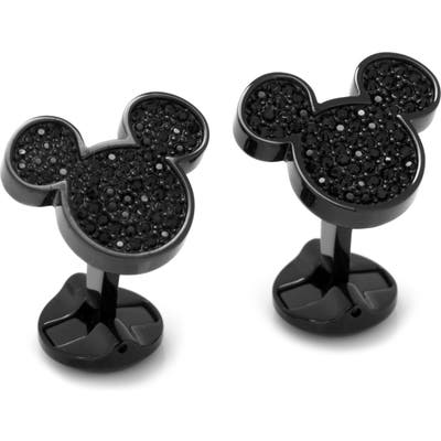 Cufflinks, Inc. Disney Mickey Crystal Cuff Links