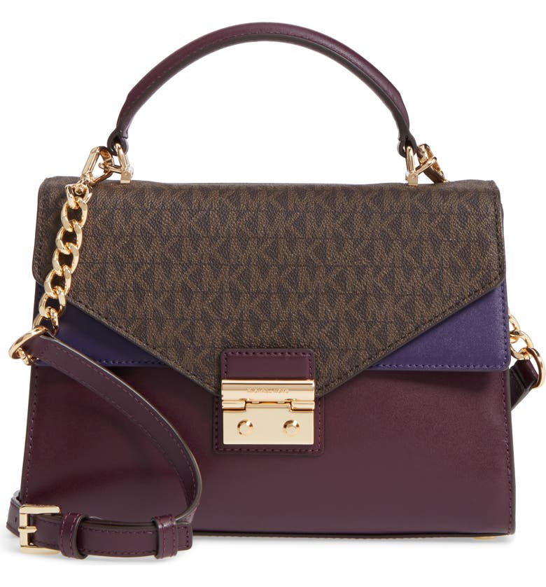 Sloan Leather Top Handle Bag
