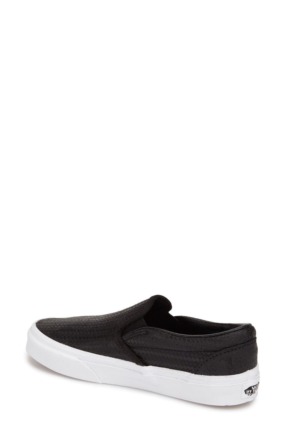 ,                             Classic Slip-On Sneaker,                             Alternate thumbnail 238, color,                             001