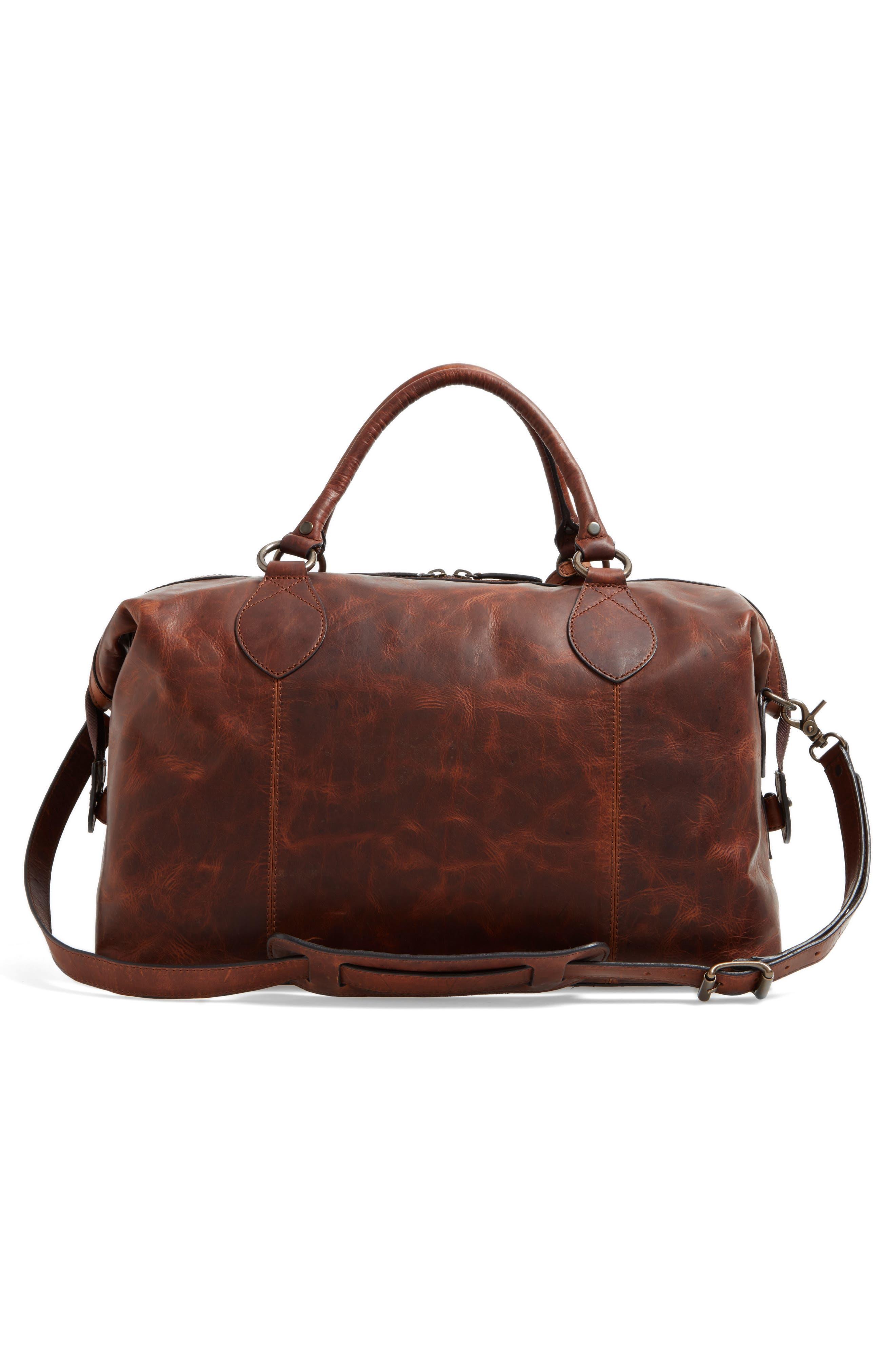 ,                             'Logan' Leather Overnight Bag,                             Alternate thumbnail 17, color,                             235