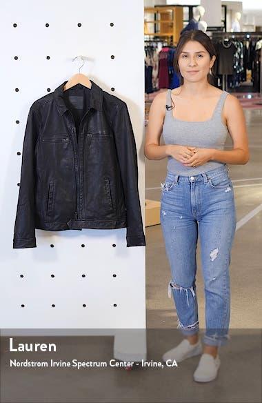 Lark Leather Jacket, sales video thumbnail