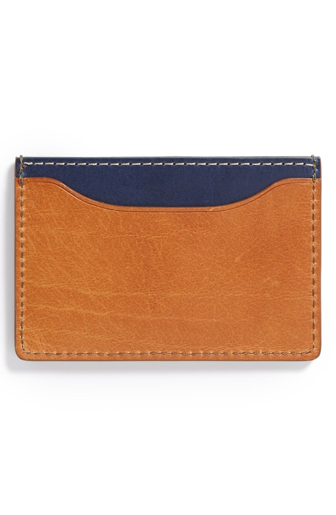 ,                             'Mitchell' Leather Card Holder,                             Alternate thumbnail 6, color,                             200