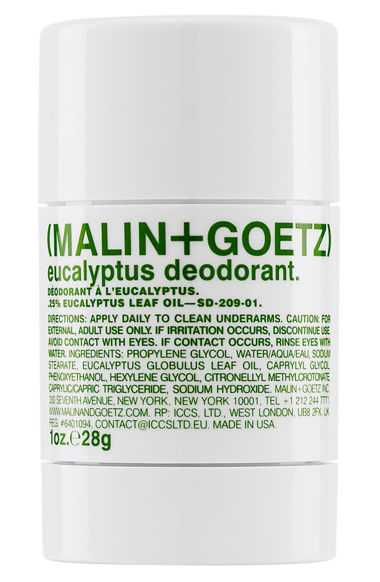 MALIN+GOETZ Eucalyptus Deodorant, Main, color, 000