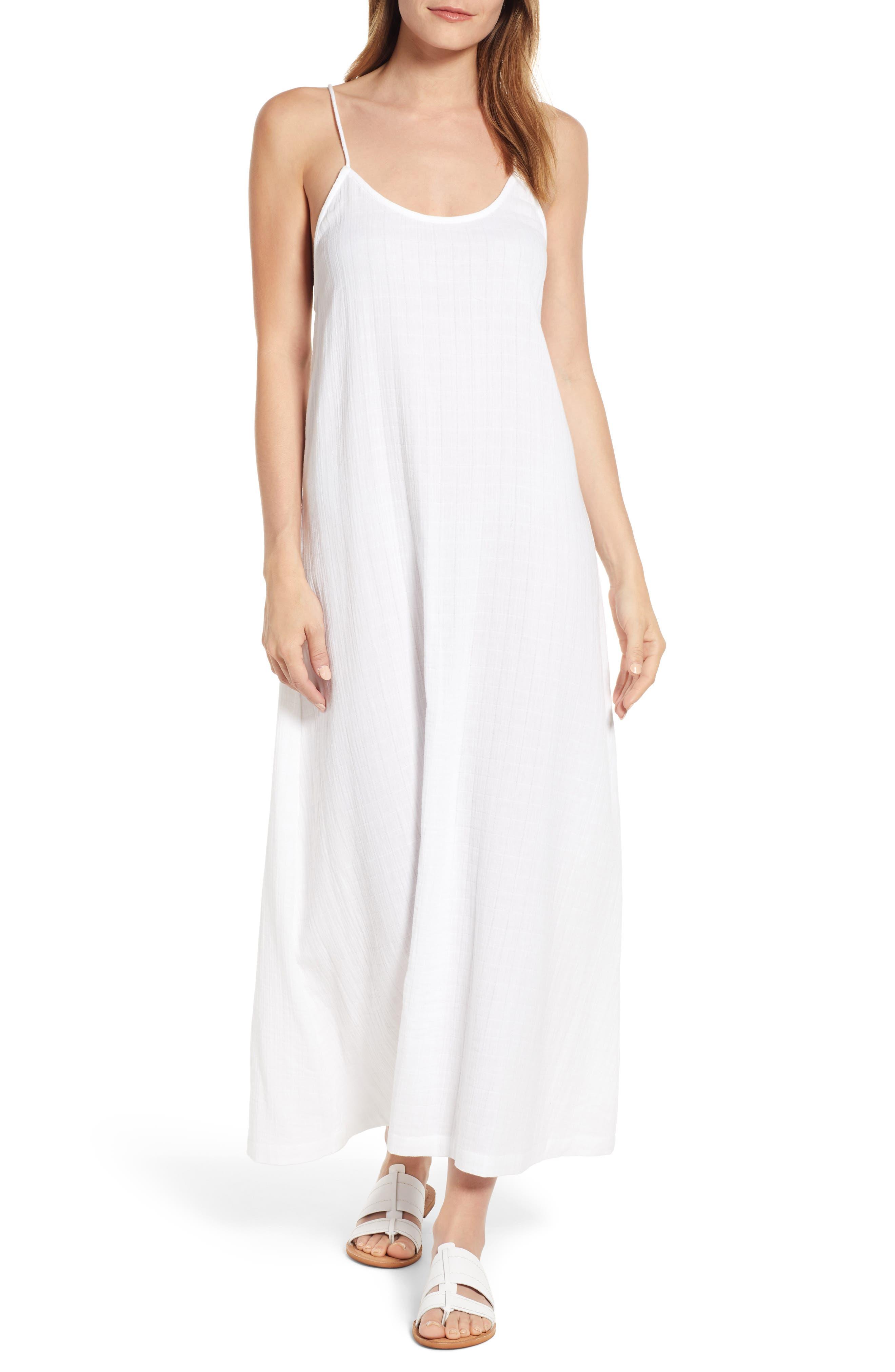 Lou & Grey Maxi Dress, White
