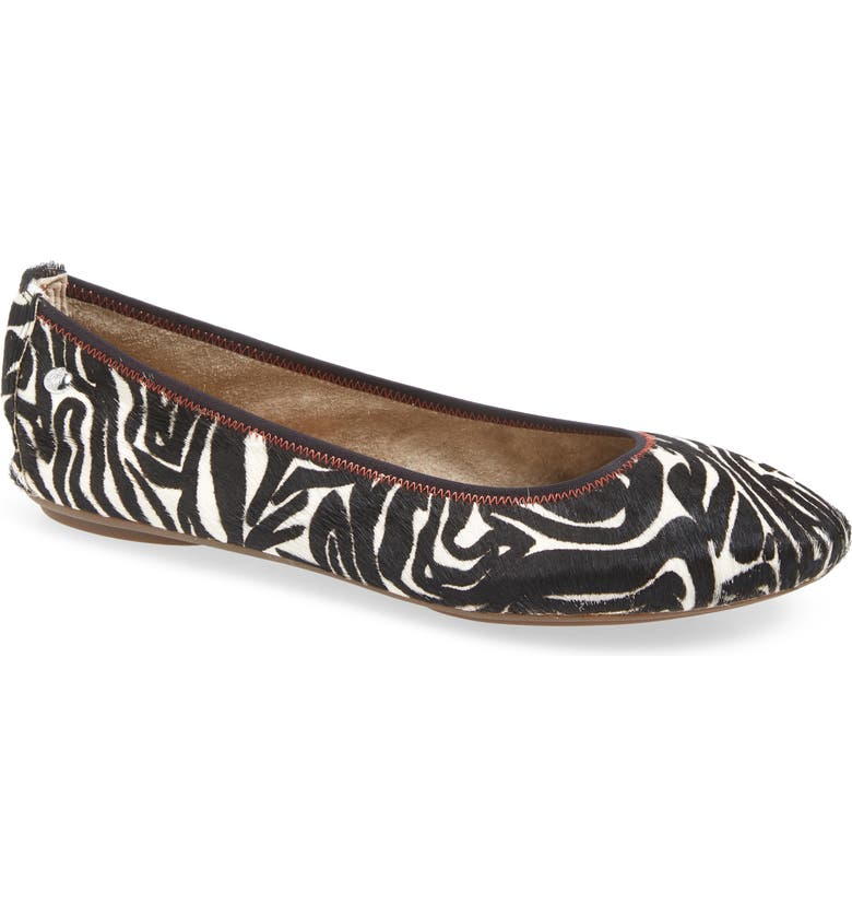 HUSH PUPPIES<SUP>®</SUP> 'Chaste' Ballet Flat, Main, color, 101
