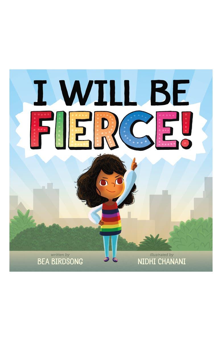 MACMILLAN 'I Will Be Fierce' Book, Main, color, BLUE/ GREEN/ BROWN