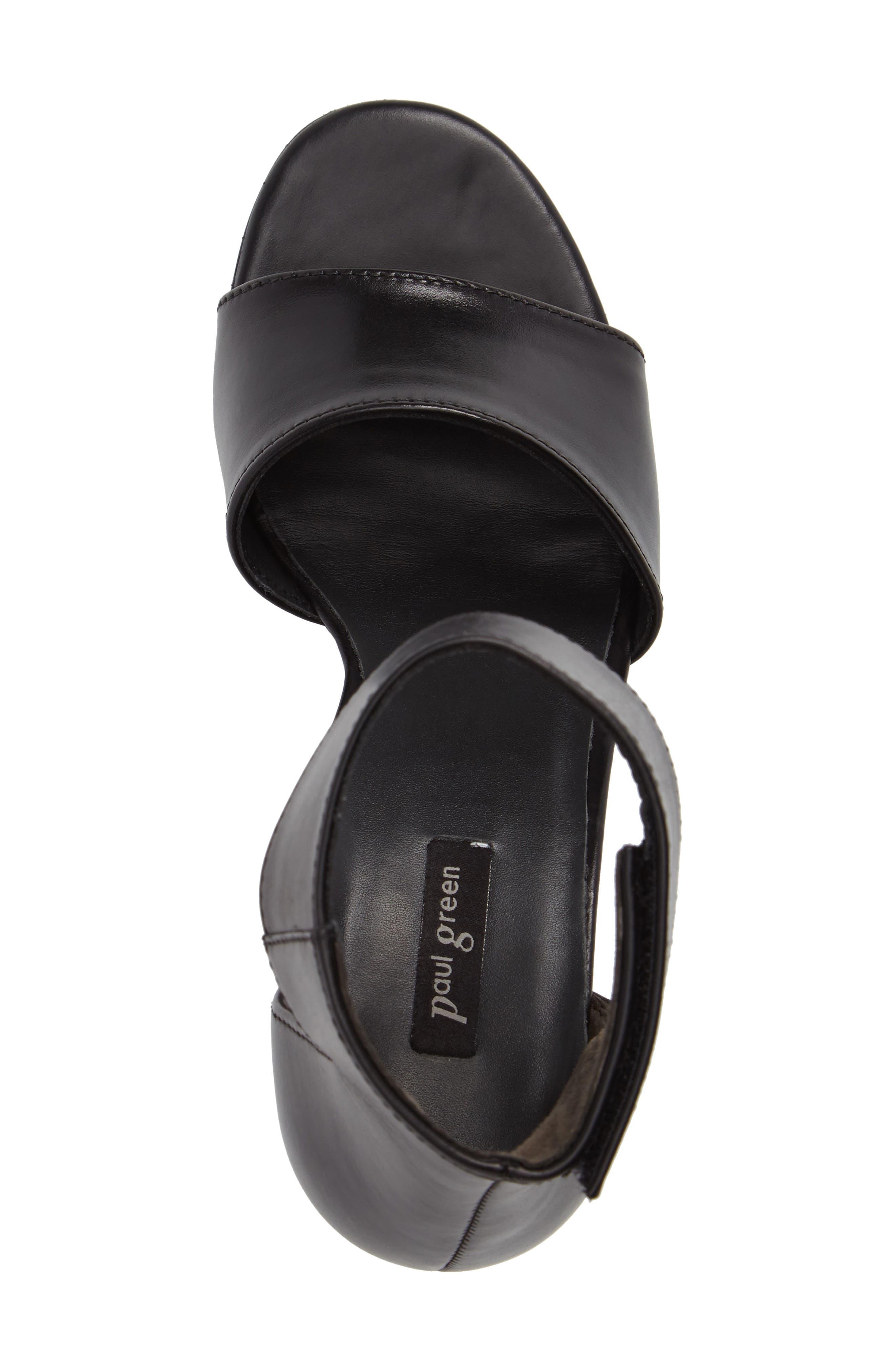 ,                             Mackenzie Ankle Strap Sandal,                             Alternate thumbnail 5, color,                             001