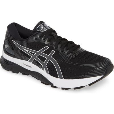 Asics Gel-Nimbus 21 Running Shoe - Grey