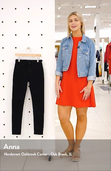 Charlie High Waist Skinny Jeans, sales video thumbnail