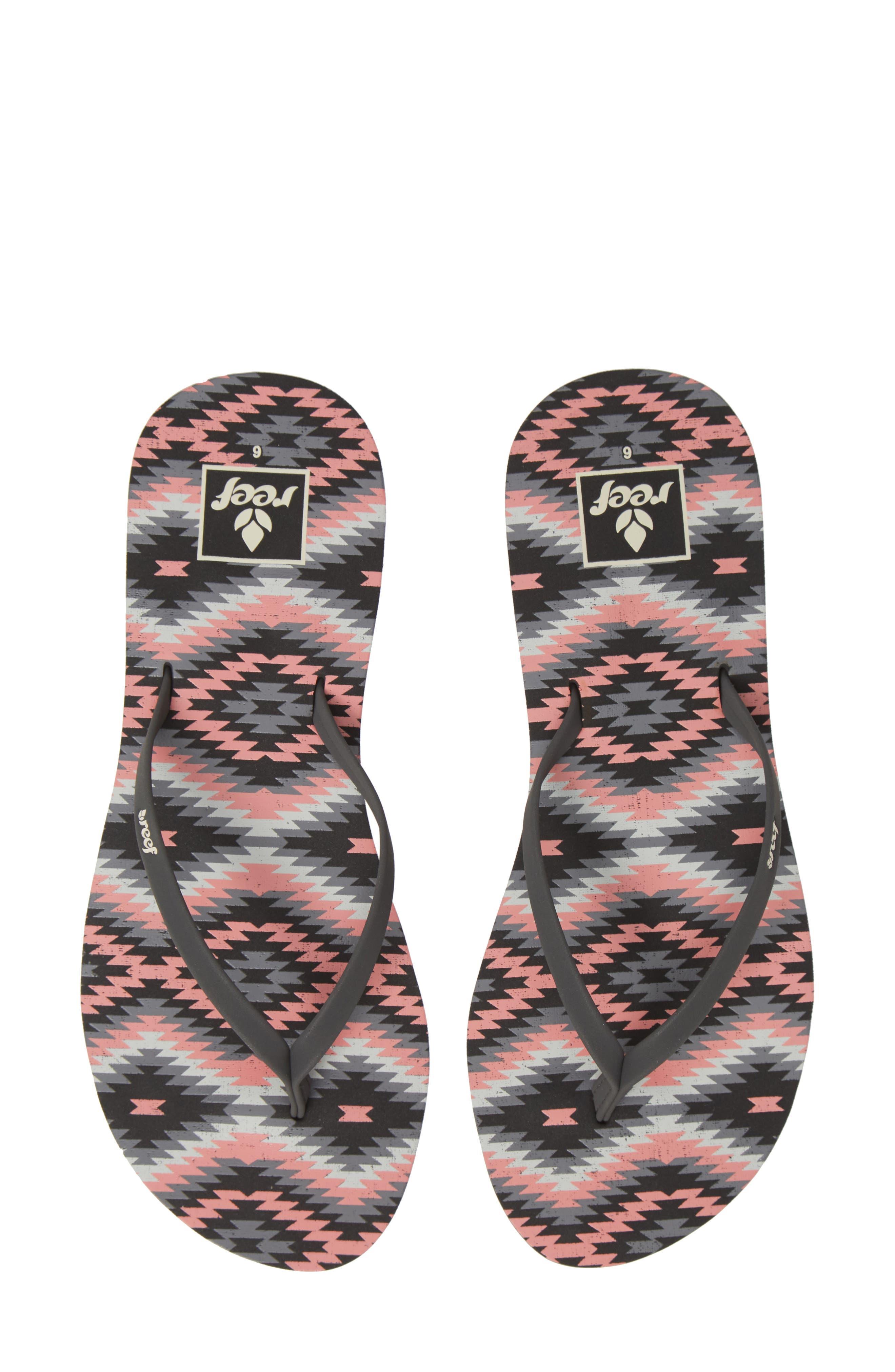Reef Bliss-Full Flip Flop, Pink
