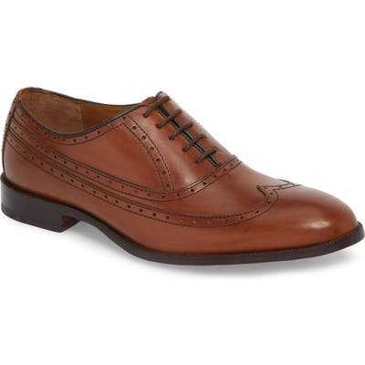 Johnston & Murphy Bradford Wingtip Oxford, Brown