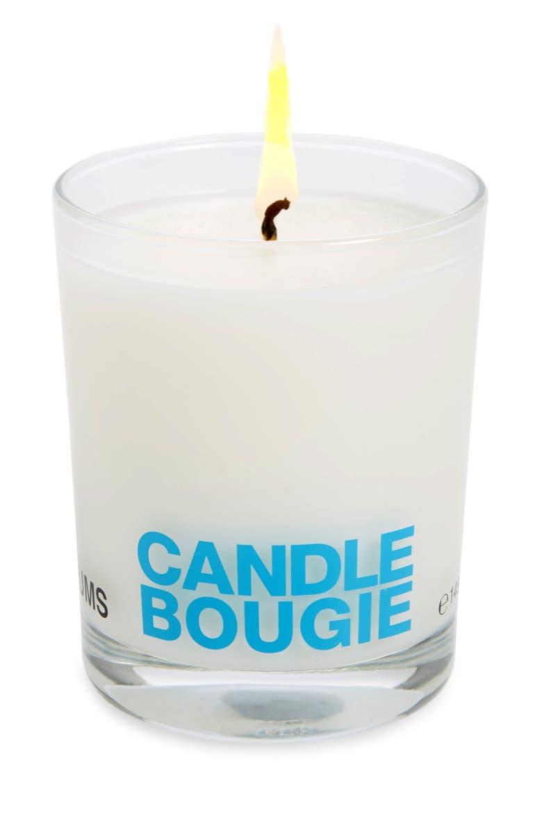 COMME DES GARÇONS Bougie Scented Candle, Main, color, BLUE