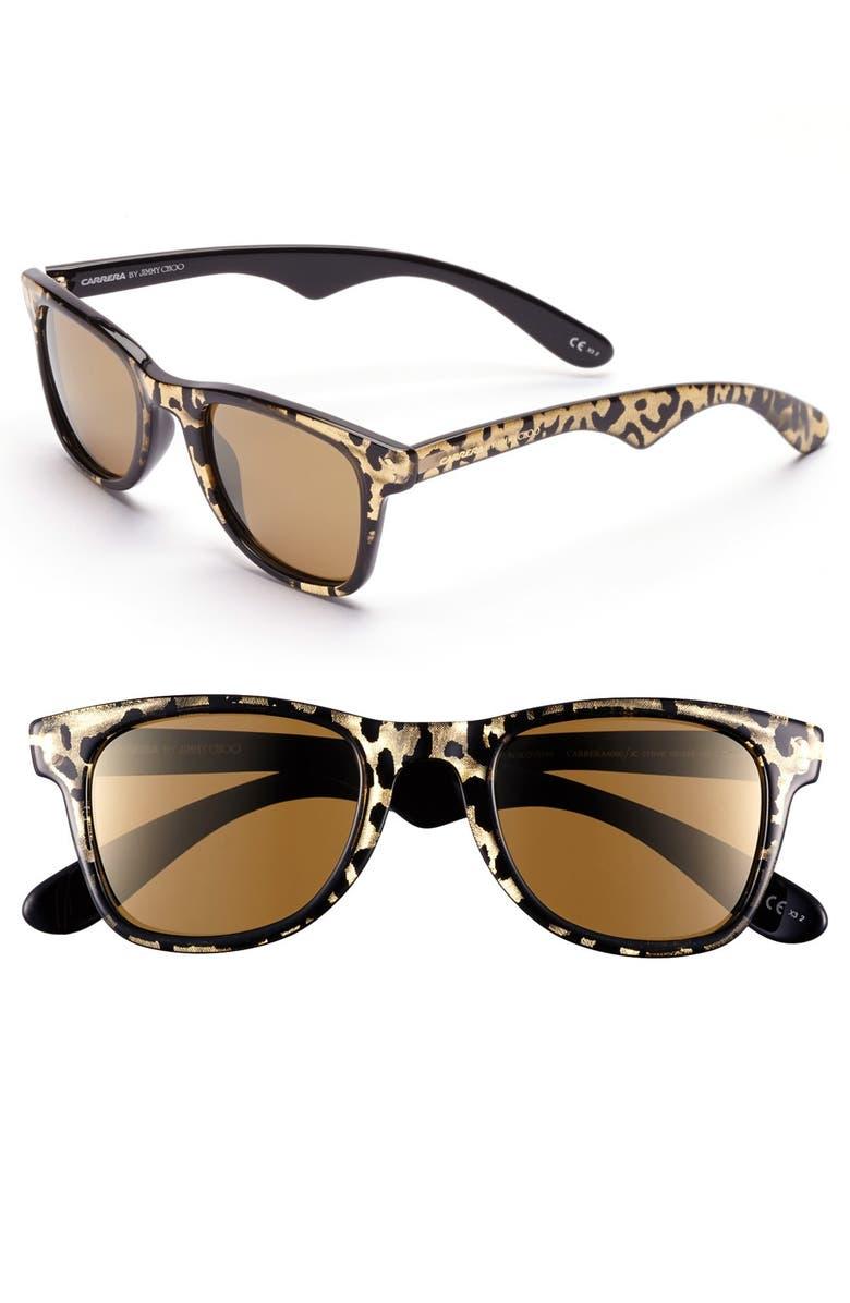 CARRERA EYEWEAR Carrera by Jimmy Choo 50mm Sunglasses, Main, color, 002