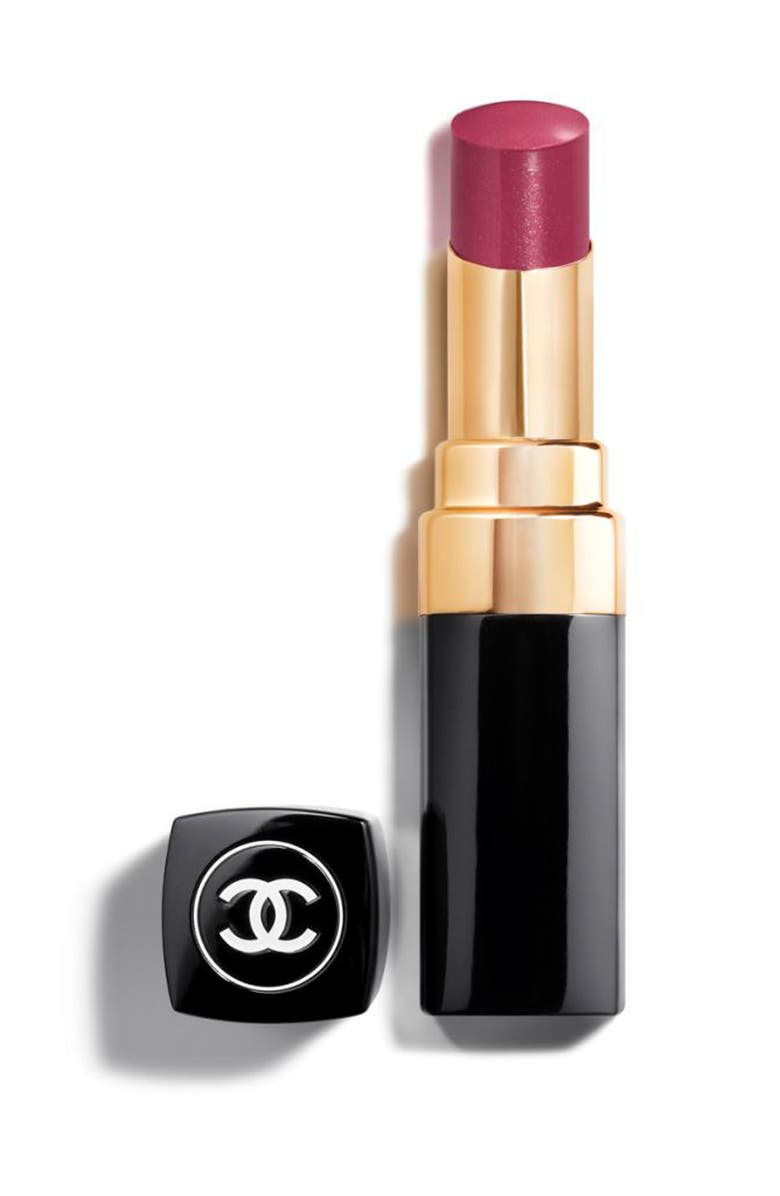 CHANEL ROUGE COCO SHINE <br />Hydrating Sheer Lipshine, Main, color, 61 BONHEUR