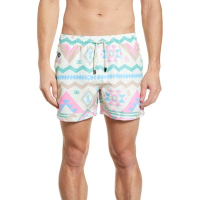 Nikben Geronimo Swim Trunks, Pink