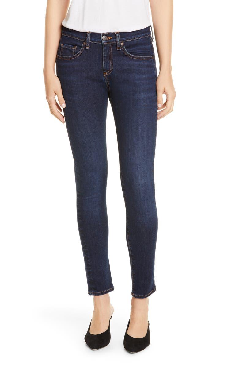 VERONICA BEARD Brooke Skinny Jeans, Main, color, 409