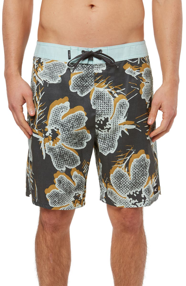 O'NEILL Intrusion Board Shorts, Main, color, GRAPHITE