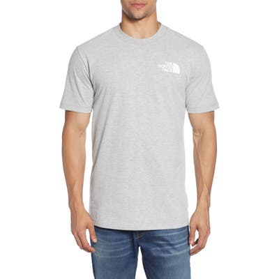 The North Face Red Box Graphic T-Shirt, Grey