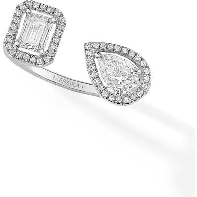 Messika My Twin Open Diamond Ring