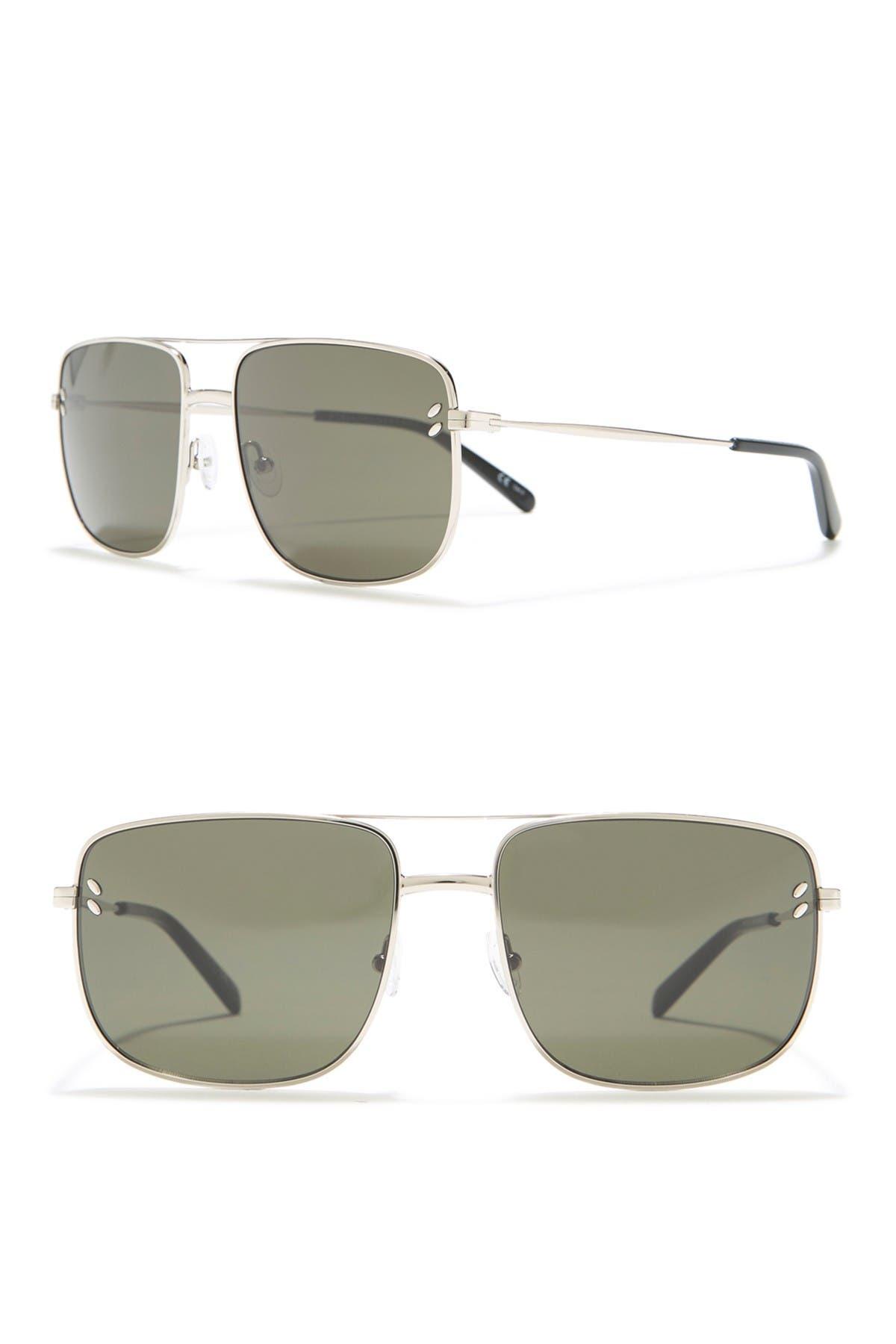 Image of Stella McCartney 58mm Navigator Sunglasses