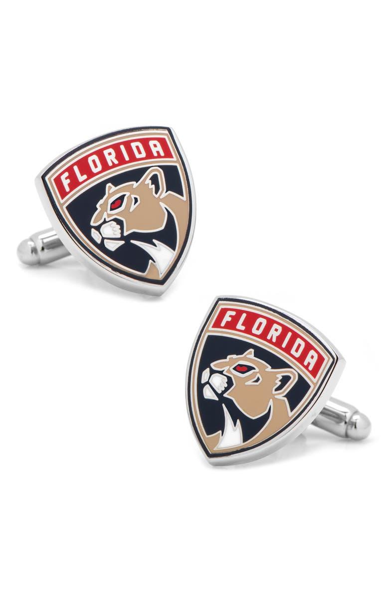 CUFFLINKS, INC. Florida Panthers Cuff Links, Main, color, BLUE