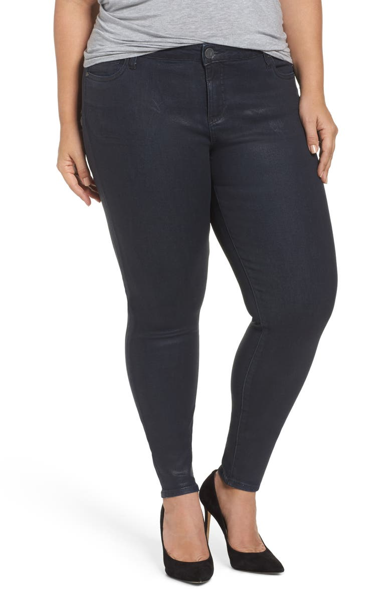 KUT FROM THE KLOTH Mia Toothpick Jeans, Main, color, NAVY