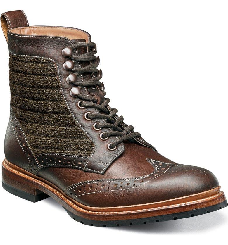 3c145fc9fe1 Madison II Wingtip Boot
