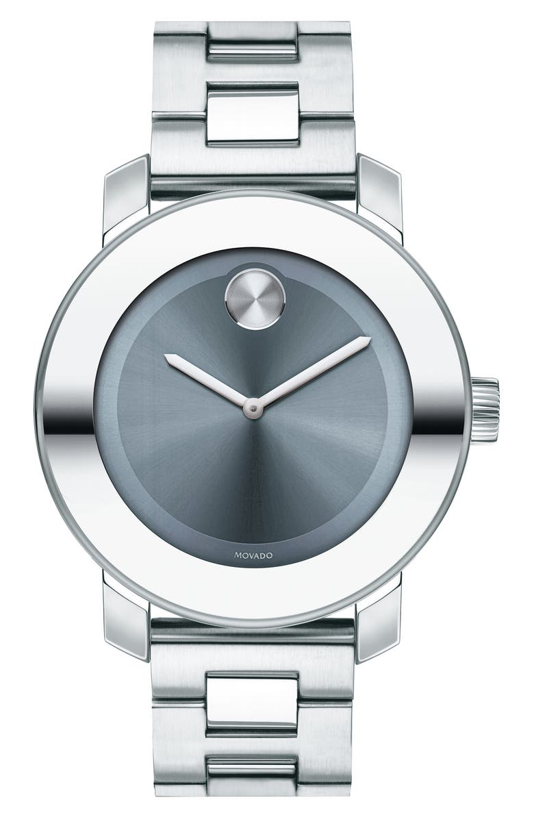 MOVADO 'Bold' Round Watch, 36mm, Main, color, 051