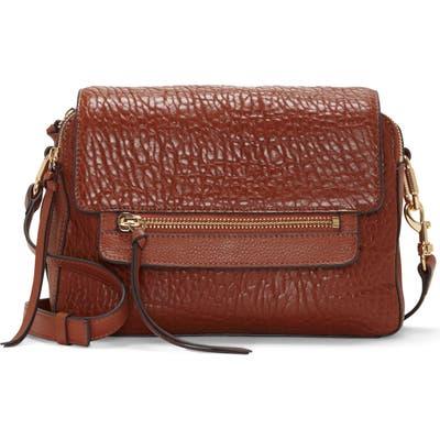 Vince Camuto Large Raya Leather Crossbody Bag - Brown