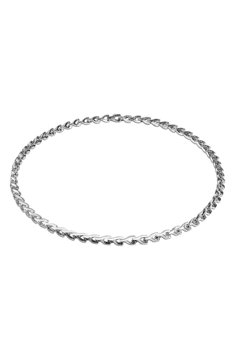 JOHN HARDY Men's Asli 7mm Chain Link Necklace, Main, color, SILVER