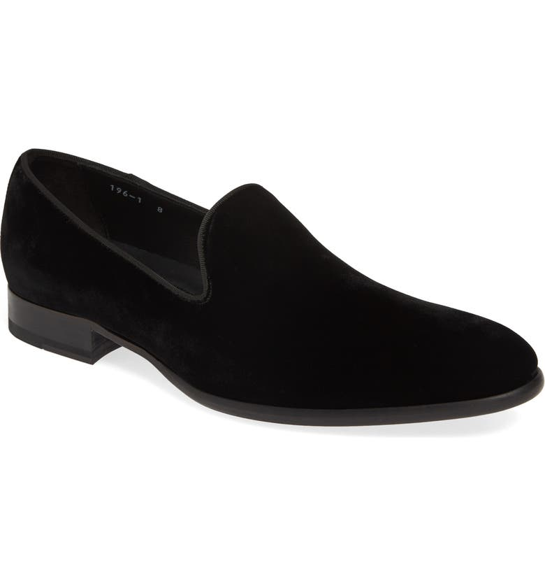 TO BOOT NEW YORK Formal Loafer, Main, color, BLACK VELOUR