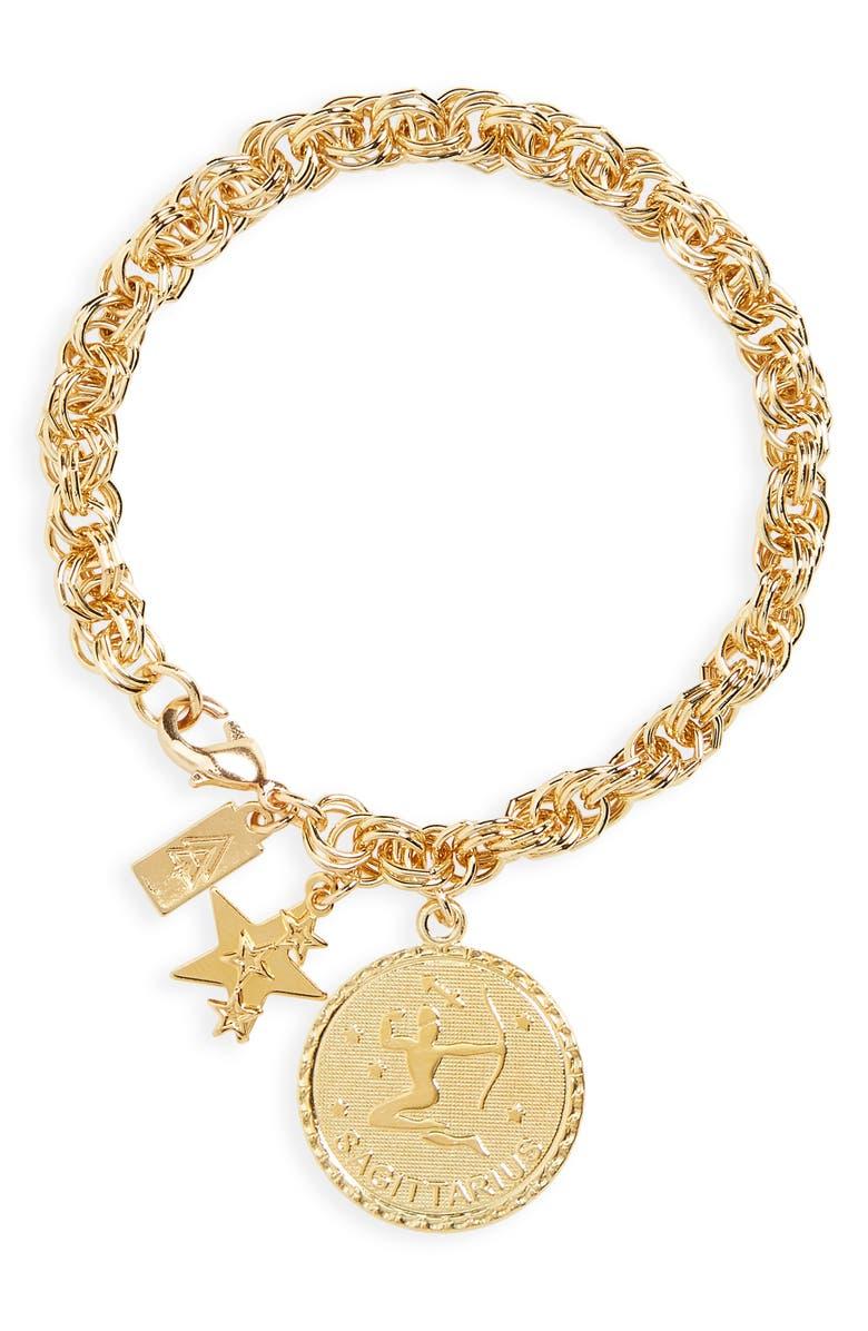 CAM Euphoria Ascending Zodiac Bracelet, Main, color, SAGITTARIUS