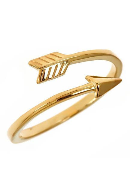Image of Sterling Forever 14K Gold Vermeil Arrow Ring