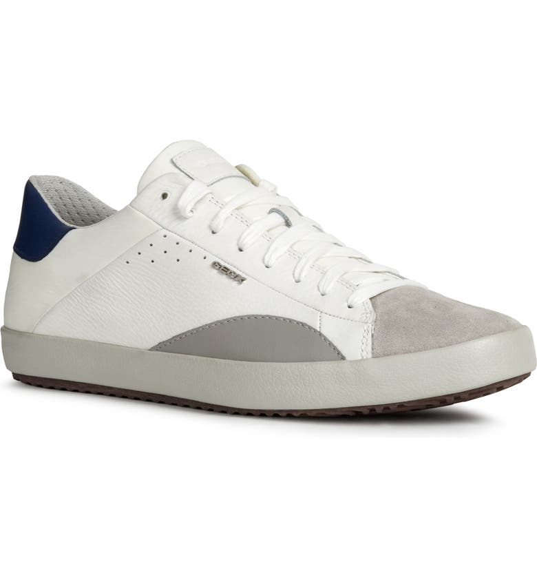 GEOX Warley 11 Sneaker, Main, color, WHITE/ LIGHT GREY