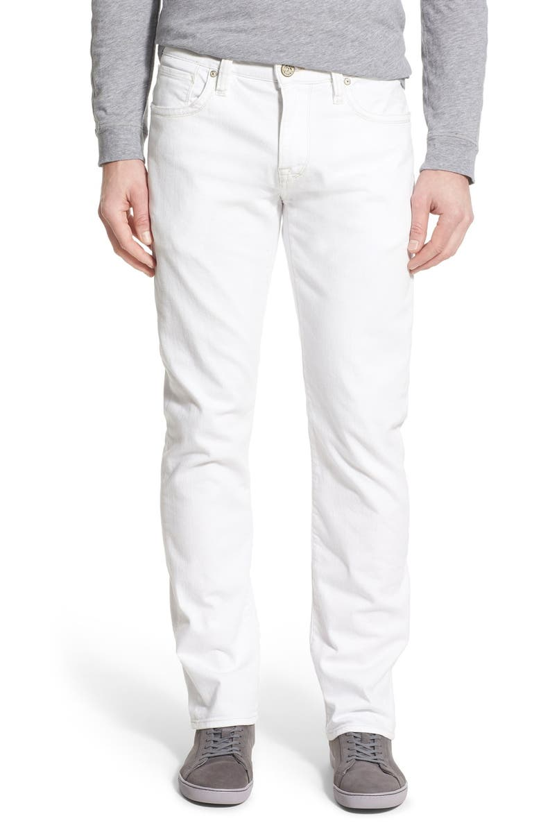 34 HERITAGE Courage Straight Leg Jeans, Main, color, 100