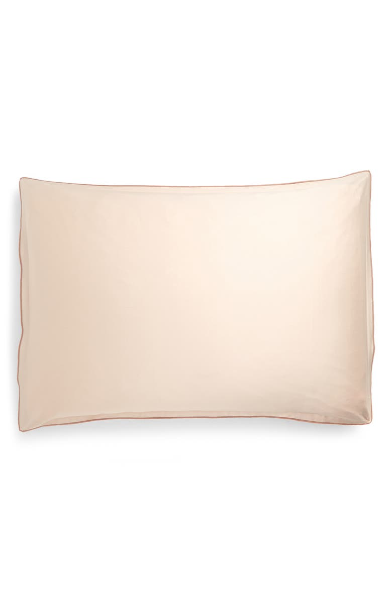 NORDSTROM Reversible Sham, Main, color, PINK WATERS