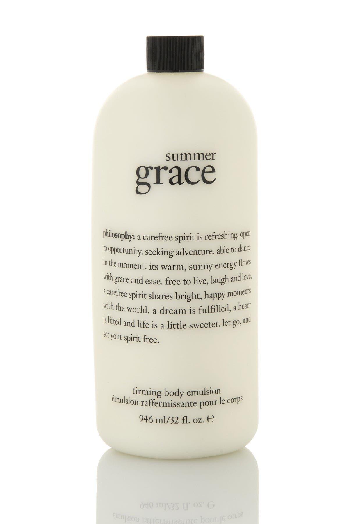 Image of philosophy Summer Grace Body Emulsion - 32oz