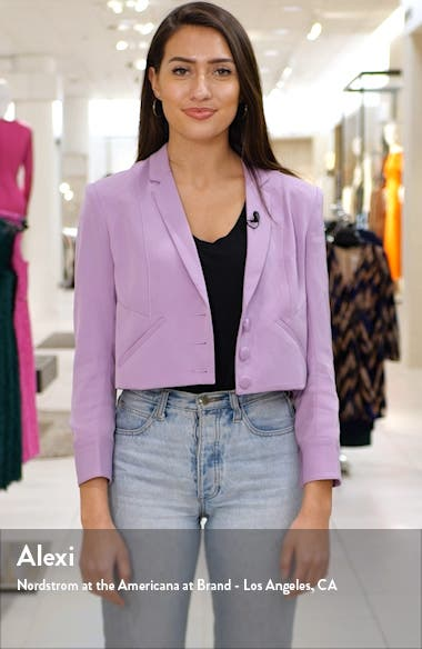 Fitted Knit Blazer, sales video thumbnail
