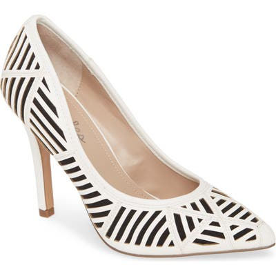 Charles By Charles David Mystery Pump- White