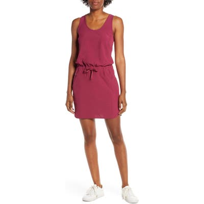 Patagonia Fleetwith Drawcord Dress, Red