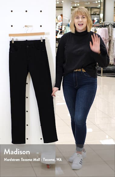 Ruby High Waist Straight Leg Jeans, sales video thumbnail