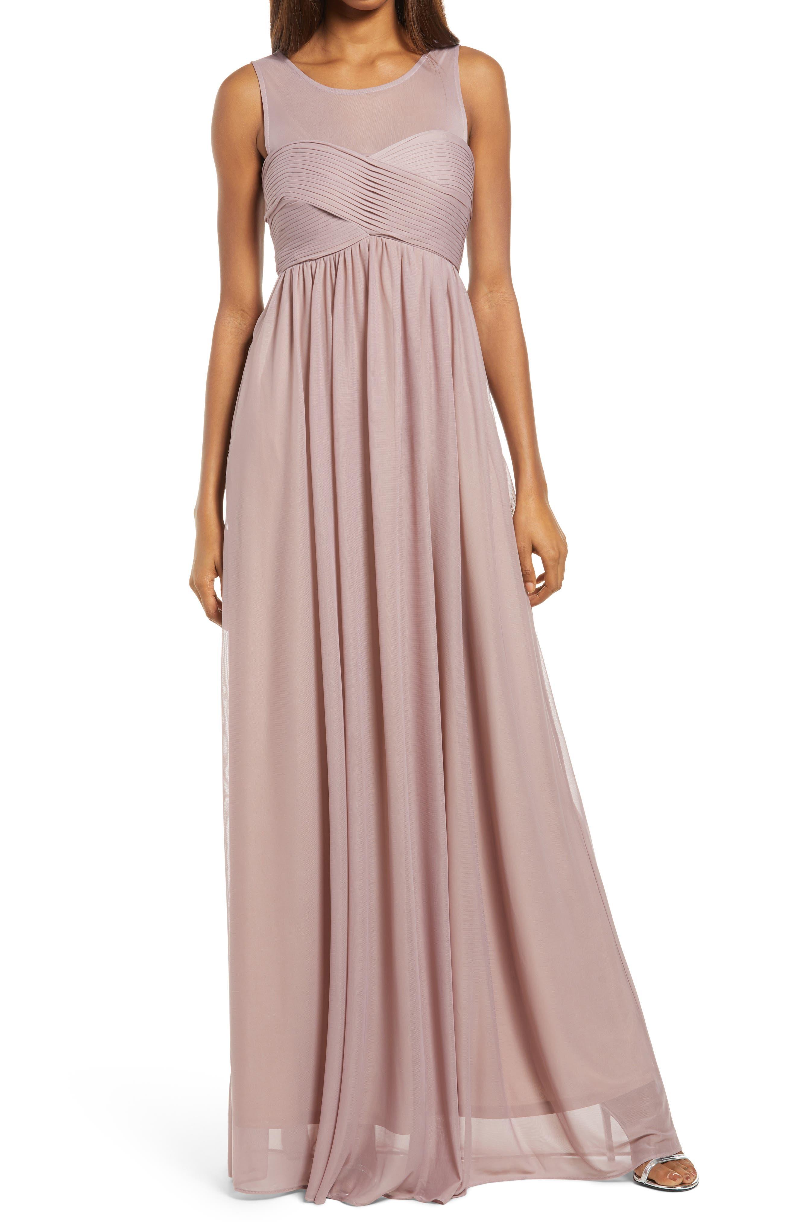Ryan Sleeveless Empire Waist Gown