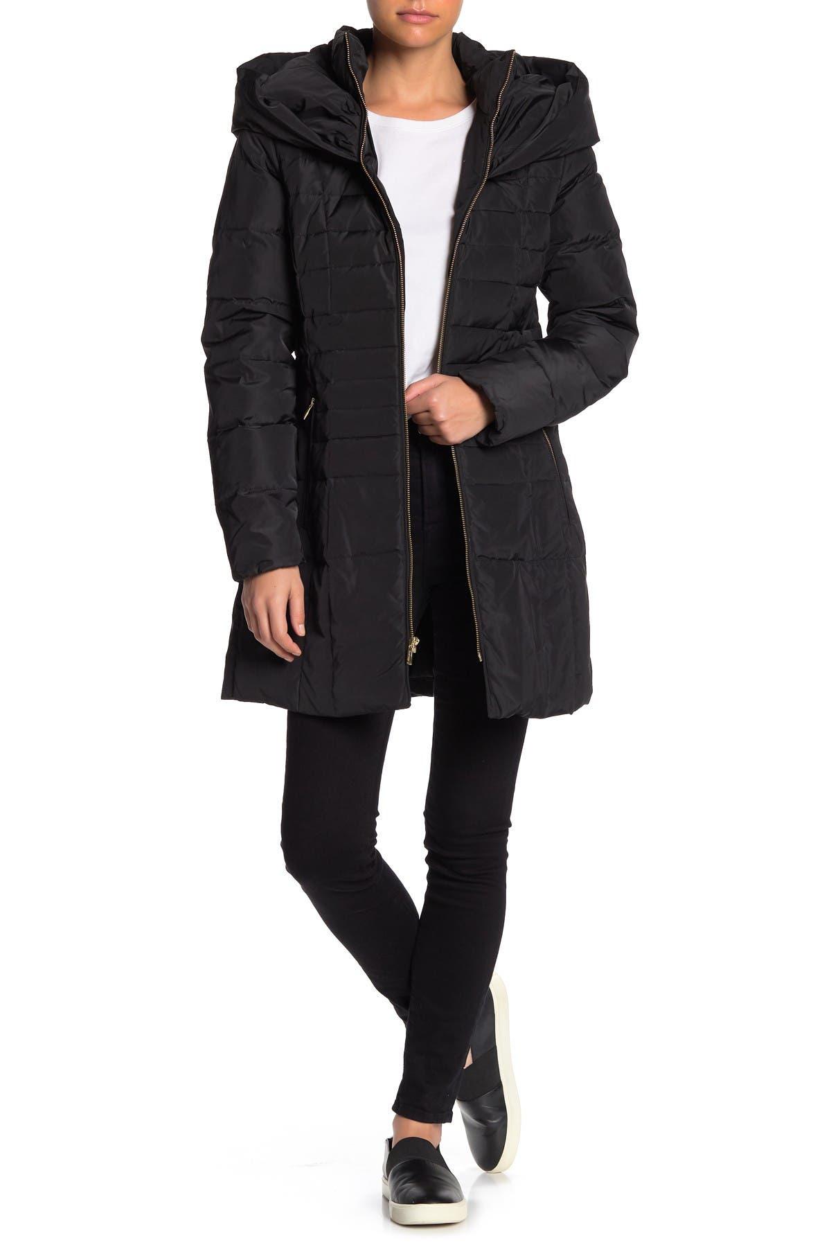 Image of Cole Haan Zip Front Down Jacket