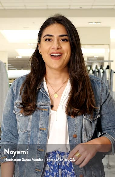 Gradient Denim Miniskirt, sales video thumbnail