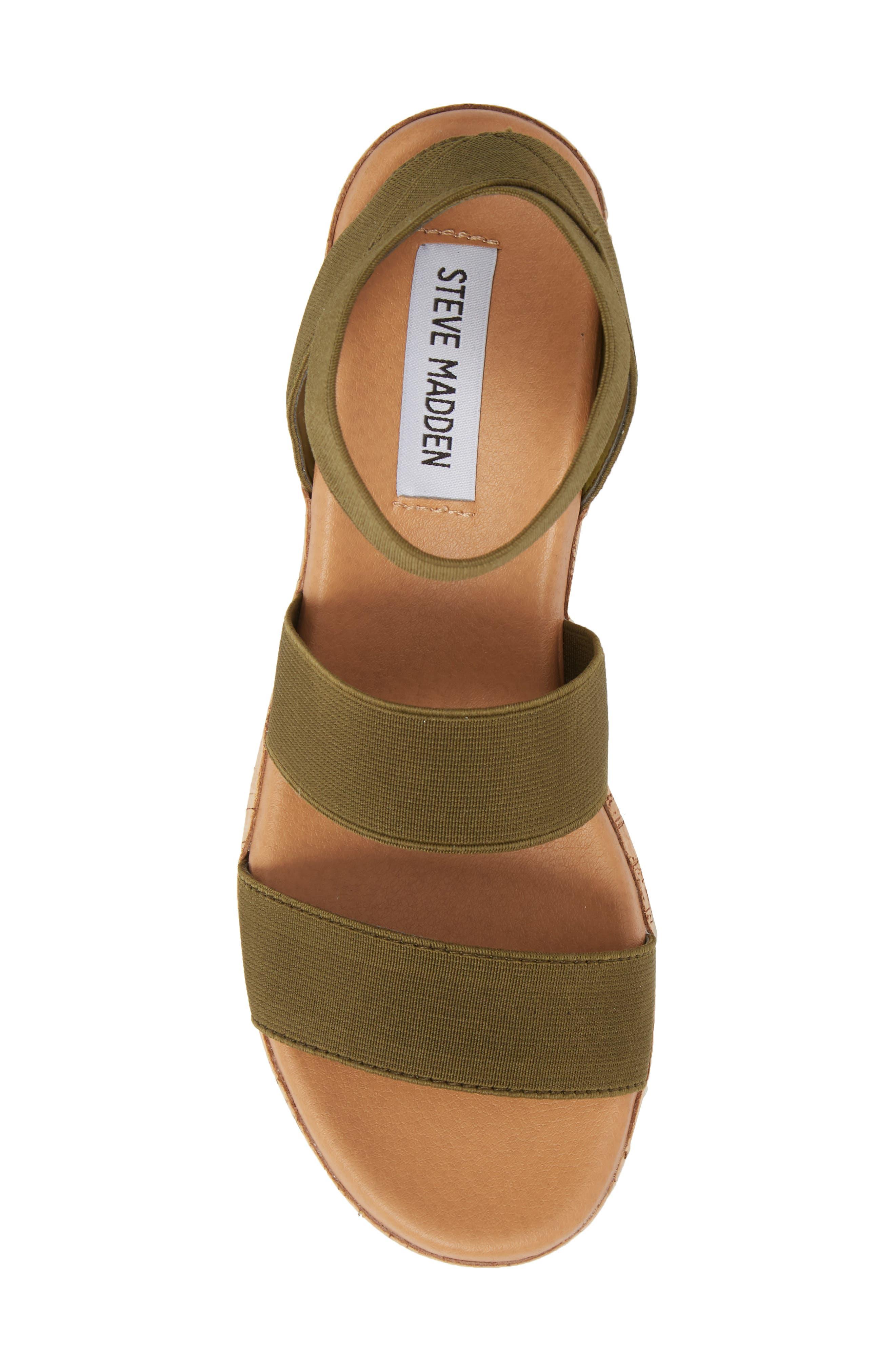 ,                             Bandi Platform Wedge Sandal,                             Alternate thumbnail 5, color,                             OLIVE