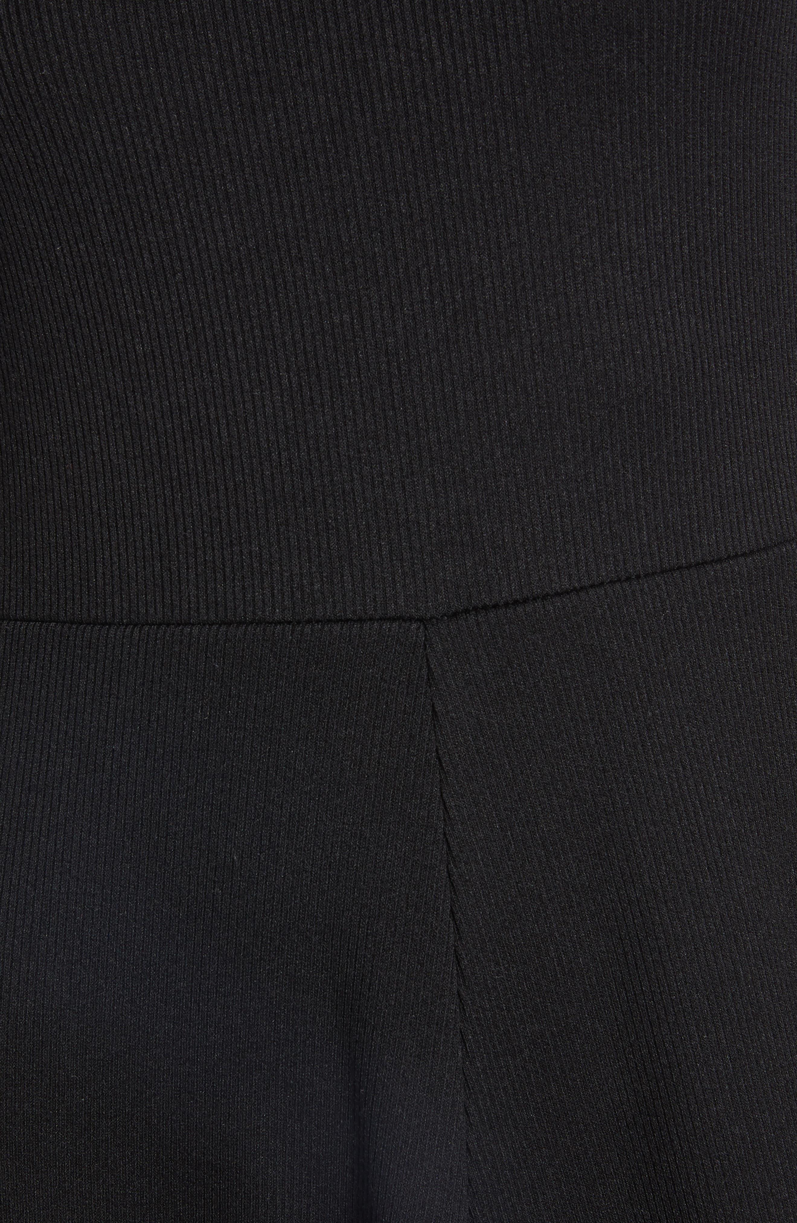 ,                             A-Line Tank Dress,                             Alternate thumbnail 6, color,                             BLACK