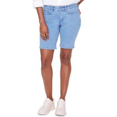 Petite Nydj Ella Denim Shorts, Blue