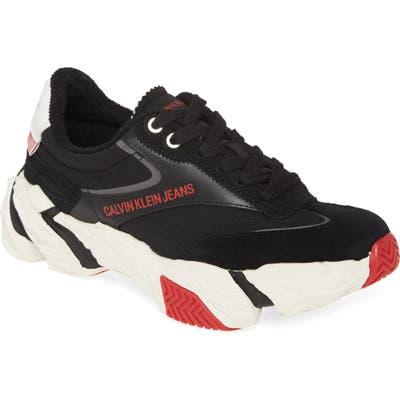 Calvin Klein Jeans Sigma Sneaker, Black
