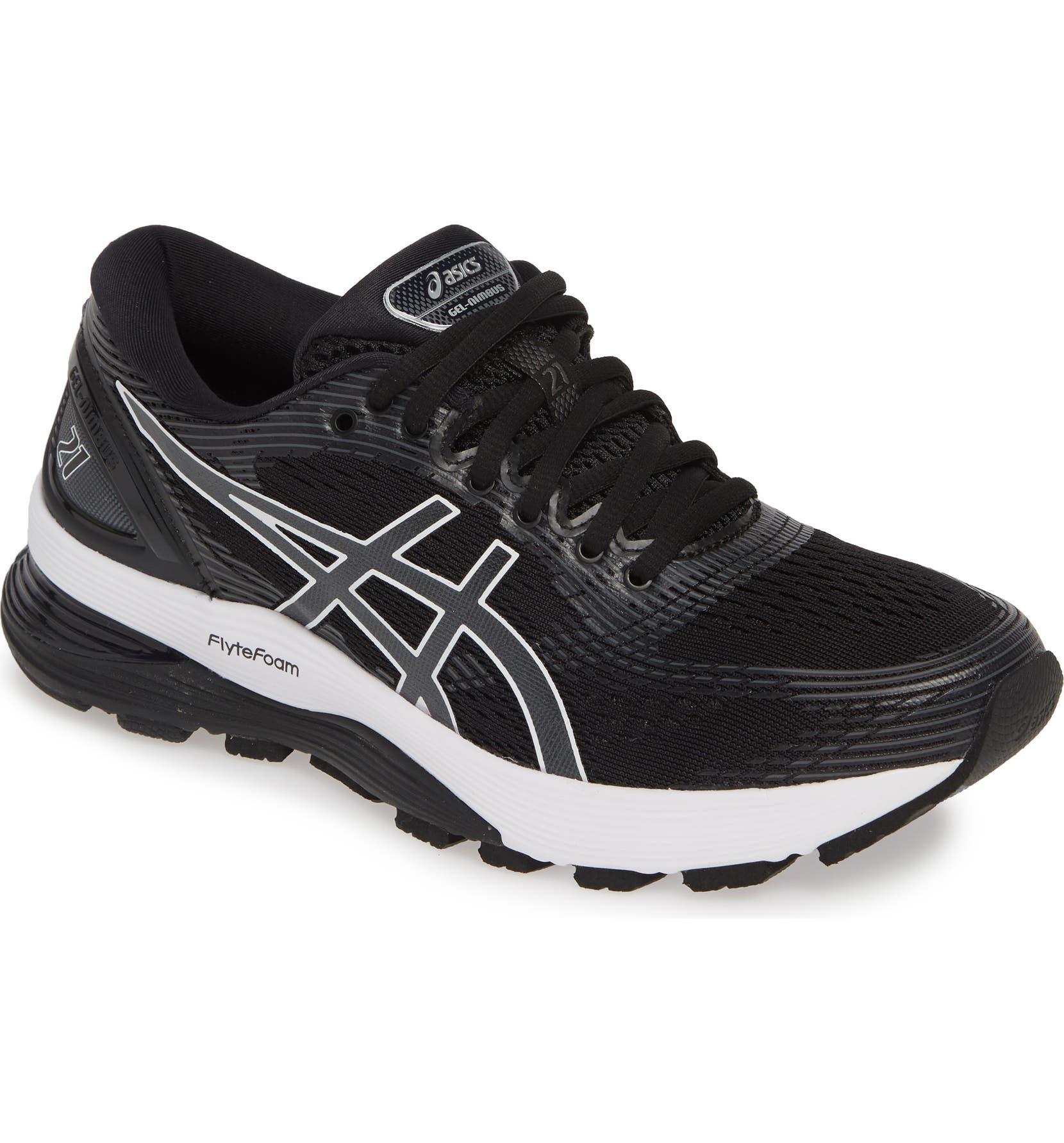 asics nimbus gel womens running shoes